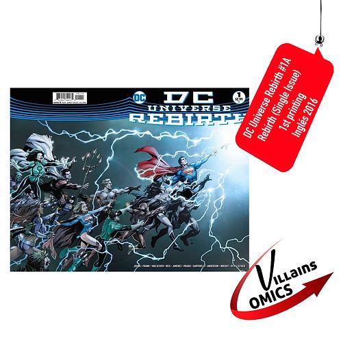 DC Universe Rebirth #1A (Single Issue)
