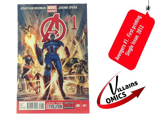 Avengers #1 Marvel NOW!