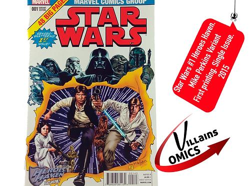 Star Wars #1 Heroes Haven Exclusive