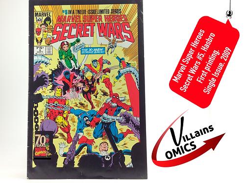 Marvel Superheroes Secret Wars #5 (2009 Hasbro AF insert)