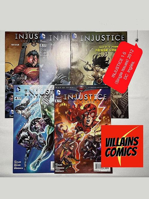 Injustice Gods among Us #1-5