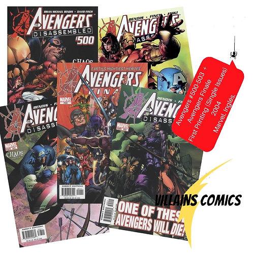Avengers #500-503 + Avengers Finale