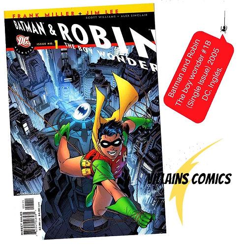 Batman and Robin The boy Wonder #1 B