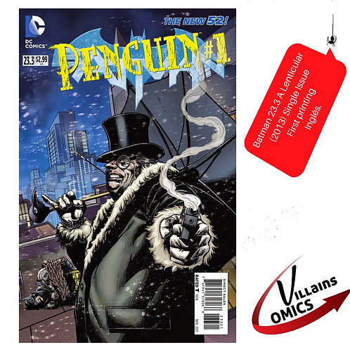 Batman #23.3 lenticular