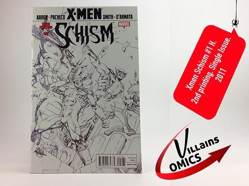 Xmen Schism #1 H