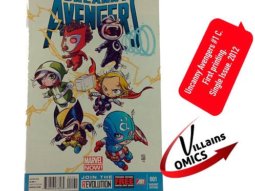 Uncanny Avengers #1 C Marvel NOW!