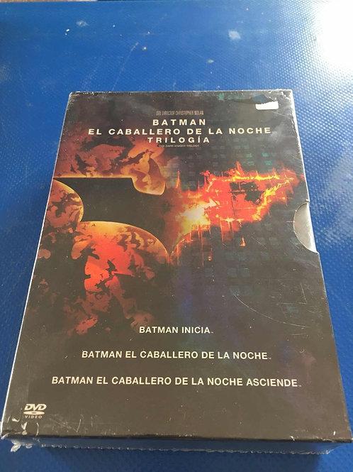 Trilogía Batman el Caballero de la noche DVD