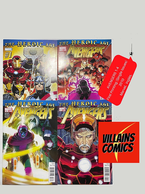 Avengers The Heroic Age #1-4