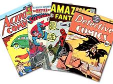 Cómics, Marvel, DC