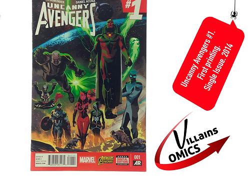 Uncanny Avengers #1 2nd Series