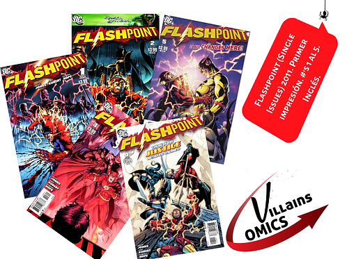 Flashpoint (Single issues)