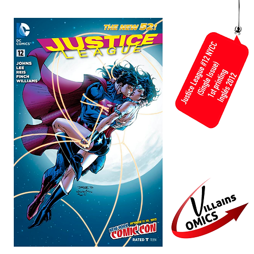 Justice League #12 NYCC(Single Issue)