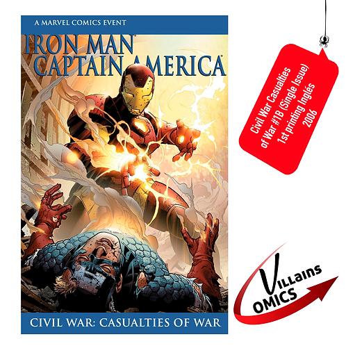 Civil War Casualties of war #1B (Single issue)