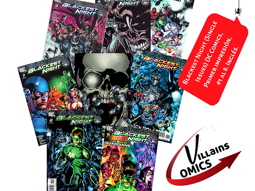 Blackest night (Single issues)