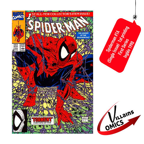 Spiderman #1A (Single Issue)