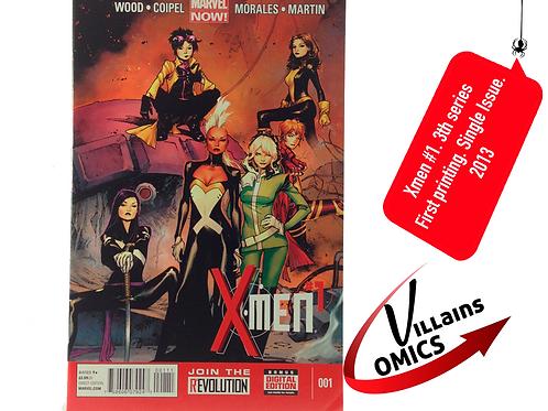 Xmen #1 Marvel NOW!