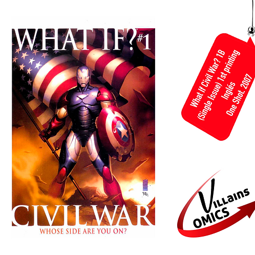 What if Civil War? #1B (one-shot) (Single issue)