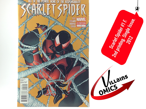 Scarlet Spider #1 F