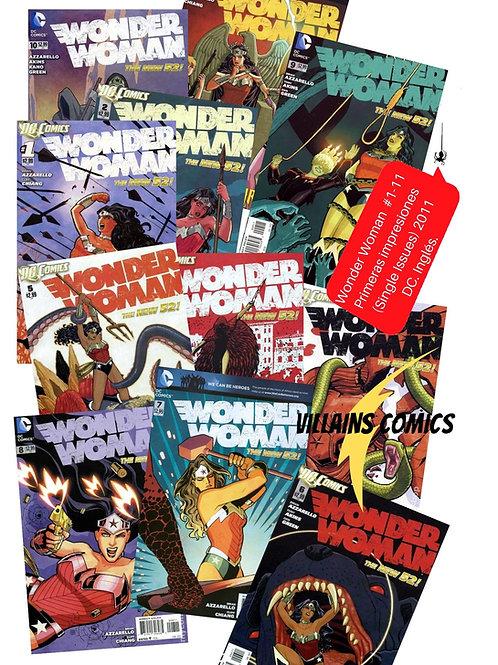 Wonder Woman #1-11