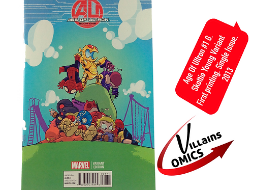 Age of Ultron #1 G Skottie Young Variant
