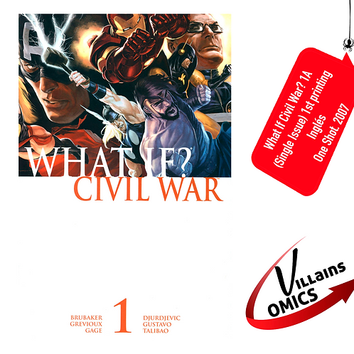 What if Civil War? #1A (one-shot) (Single issue)