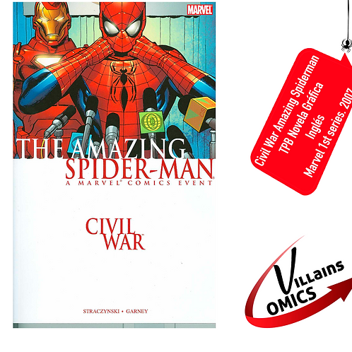 Civil War Amazing Spiderman (TPB)