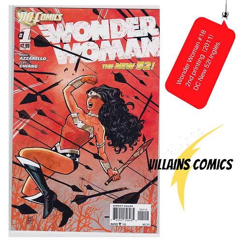 Wonder Woman #1 (2nd printing)