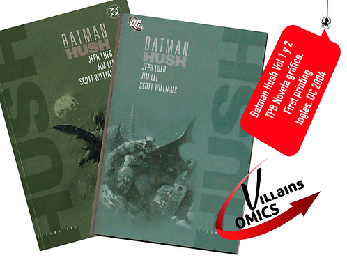 Batman Hush Vol 1 y 2 (TPB) 2004