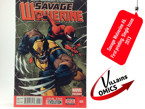 Savage Wolverine #6 Marvel NOW!