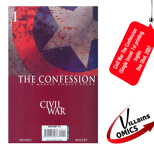 Civil War The Confession (one-shot) (Single issue)