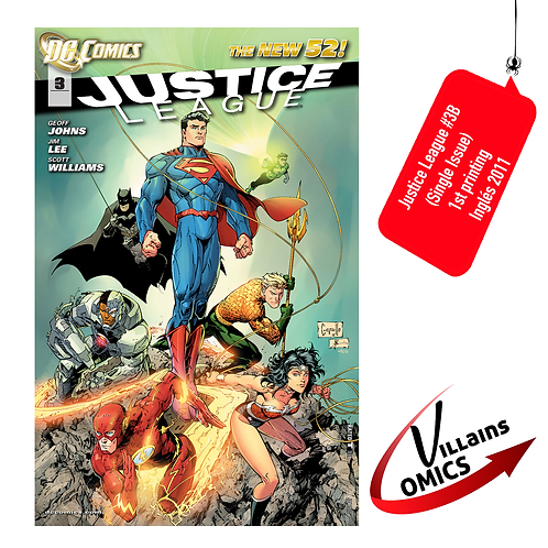 Justice League #3B (Single Issue)