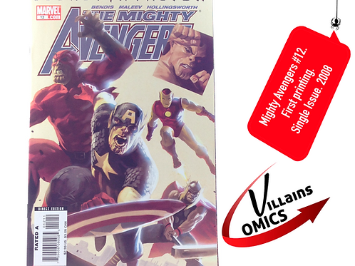 Mighty Avengers #12 Secret Invasion Tie-in