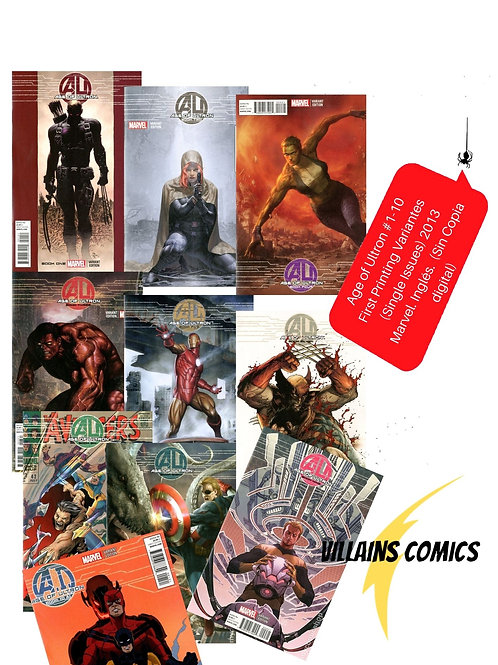 Age of Ultron 1-10 (Variantes)
