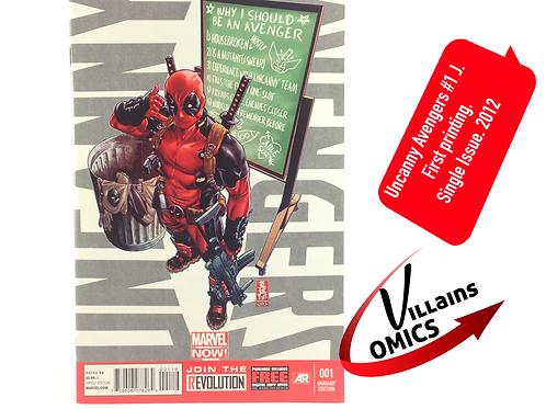 Uncanny Avengers #1 J Marvel NOW! (Deadpool)