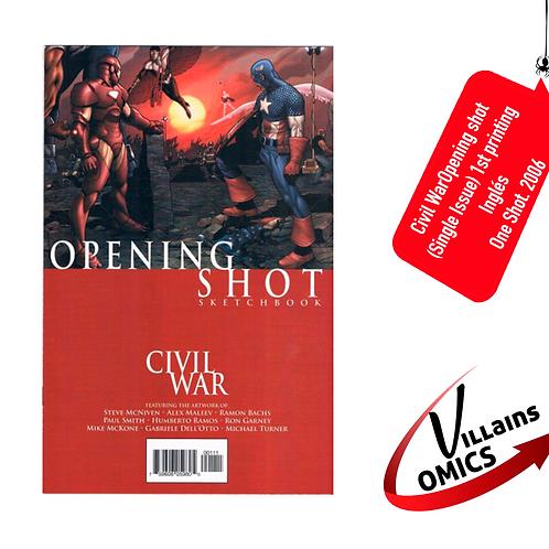 Civil War Opening Shot sketchbook (Single issue)