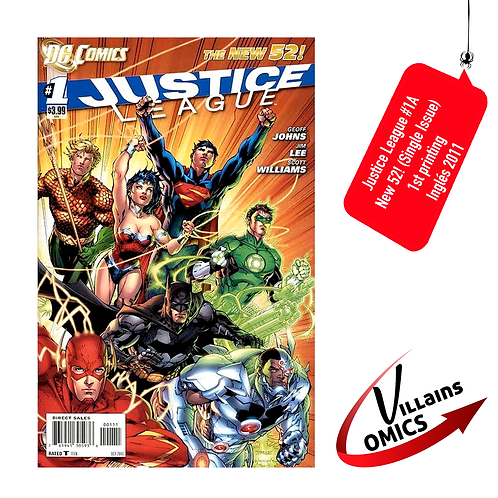 Justice League #1A (Single Issue)