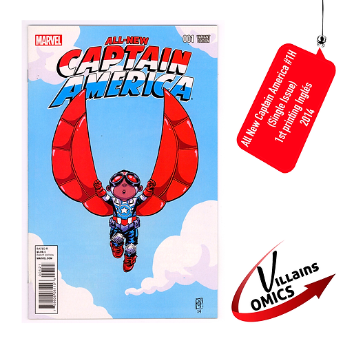 All New Captain America #1H (Single Issue)
