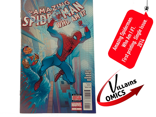 Amazing Spiderman Who am I? #1 One shot