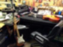 guitar repair bench