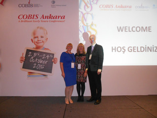 Great learning and great fun days at the COBIS EYFS Conference