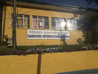 Return to Sandford International School, Addis Abbas, Ethiopia