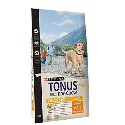 TONUS DOG CHOW Classic Cane Crocchette con Pollo 12KG