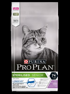 PURINA® PRO PLAN® STERILISED SENIOR 7+ RICCO IN TACCHINO 400g