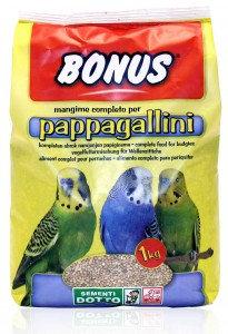 bonus - pappagallini 1kg