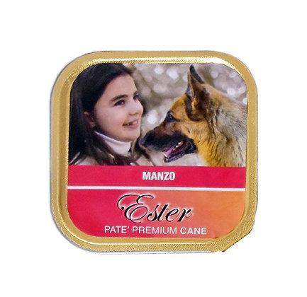 patè di manzo premium per cani