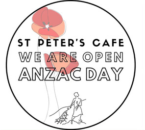 We are open on the 25th of April!