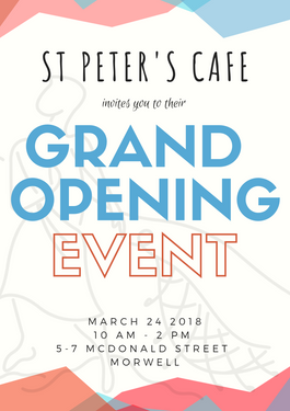 Grand opening! 24th of March 2018