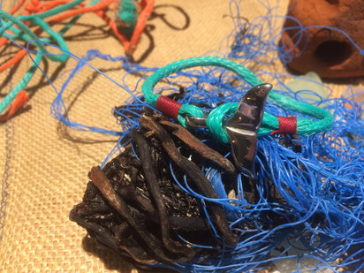 Recycled fishing net