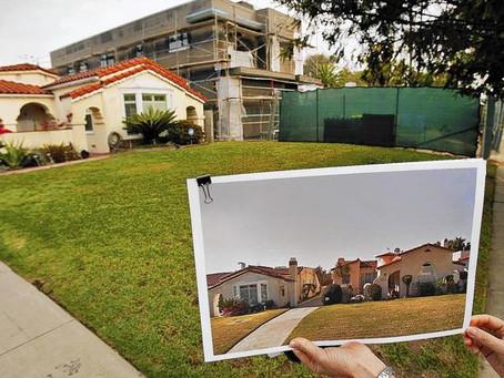 Steps taken to curb 'mansionization'
