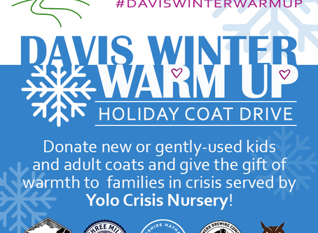 Join the Davis Winter Warm Up Coat Drive